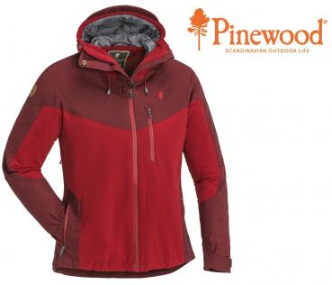 Damen Outdoorjacke PINEWOOD® Finnveden Extrem Hybrid. Wind- und wasserdicht - red