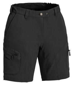 "Pinewood "" Wildmark "" Stretch Damen Shorts - schwarz"